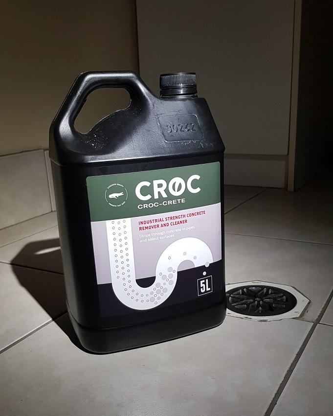 Croc Crete | Concrete Dissolver | Plumbing Supplies | Pipe Magic