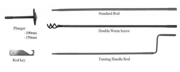 Coiled Spring Rod Kit