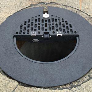 Manhole Safety Grates | Standard Circular Grate