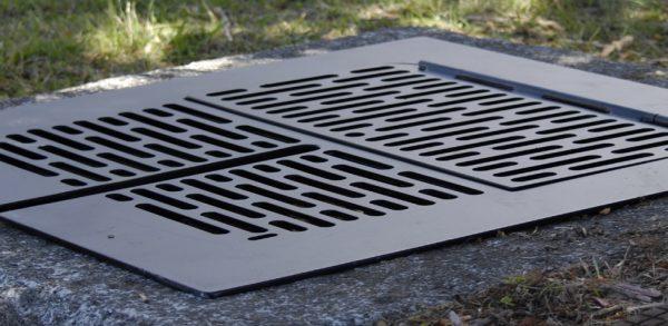 Manhole Safety Grates | Rectangular Grates